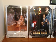 Just picked up my posters from getting framed. Now to decide where to hang them
