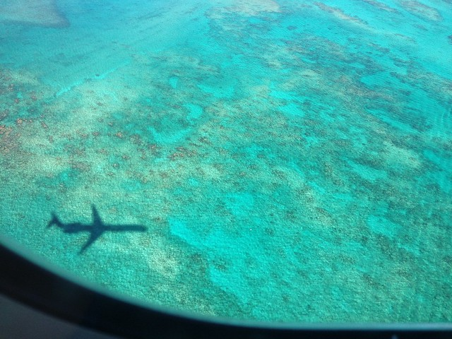 Arrival in Paradise #plane #shadow #travel