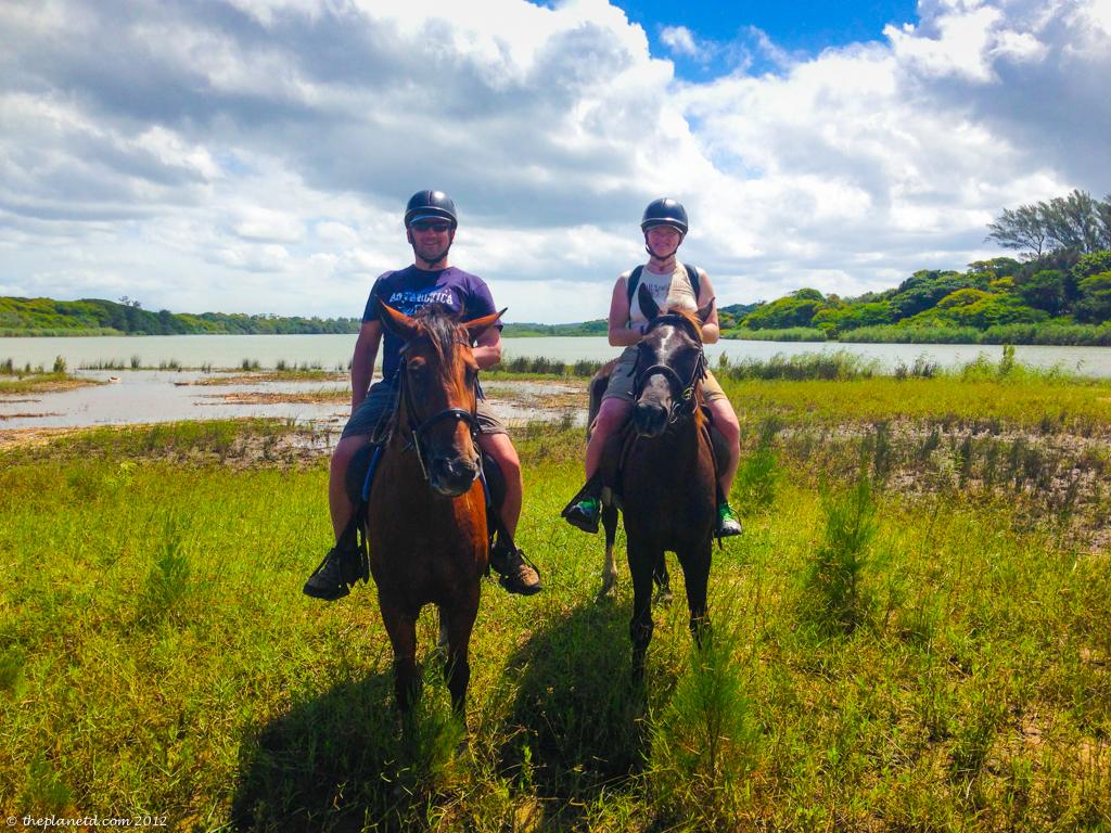 horse safari st lucia