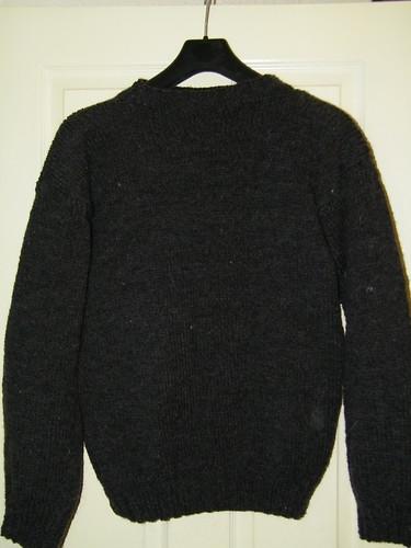 Hand Knitted Men's Jumper - Handgestrickter Maennerpullover by abracacamera