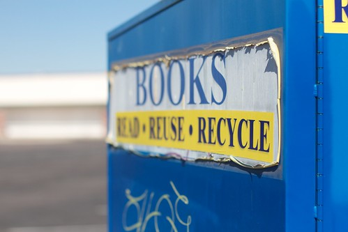 Recycle Those Books!