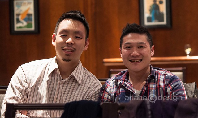 Steve Kuan and Clement Chan from Le Tigre Cuisine food truck
