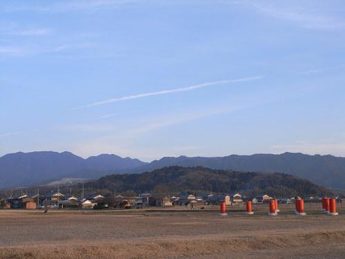 藤原宮跡から眺める大和三山-01