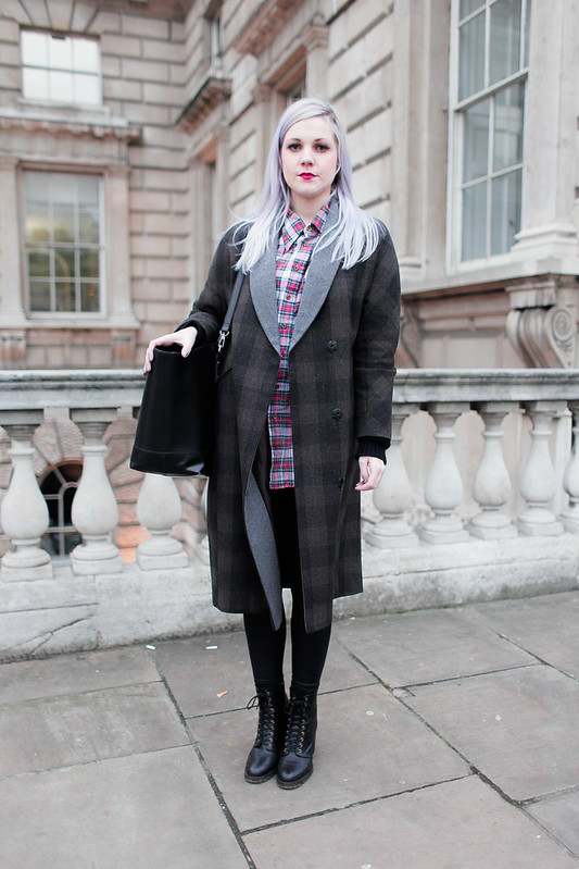 LFW Street Style - Claire Acton