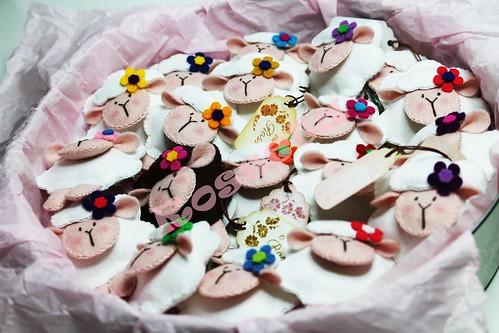Regalitos para las chicas de la quedada 2013.   Muchas gracias a Erica por su inspiración y su generosidad. by Un rincon para Rosseta