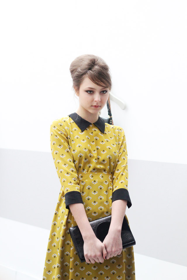 Orla Kiely AW13 London Fashion Week 50s 60s 70s retro