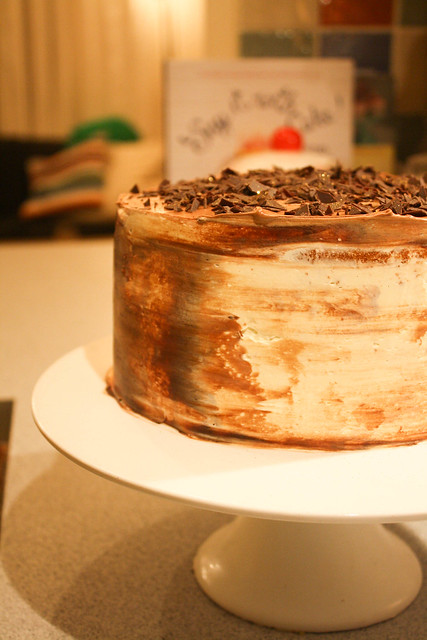 Chocolate Cointreau Cake