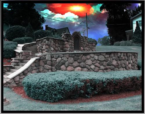 sunset ny town memorial war village small historical phelps ontariocounty onasill