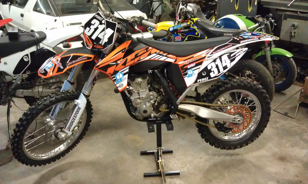 Ktm  Sxf Renthal Fat Bars