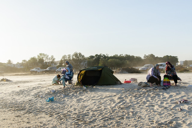 Women resting on the beach, Nabeul, Tunisia, 2012 / from Views with People