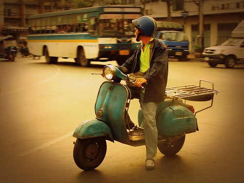 Vespa seen in China Town 5 by 6/64
