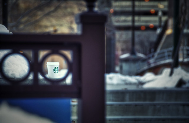 "Week 8 of 52 Theme: ""Coffee"" Framed and left behind"