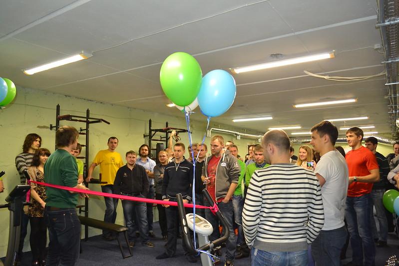 Gym Opening (2013)