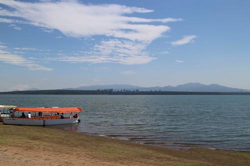 blue cloud azul agua sierra cielo nubes presa montañas lanchas altfoto eltejocotal visitamexico tejocotalhidalgo