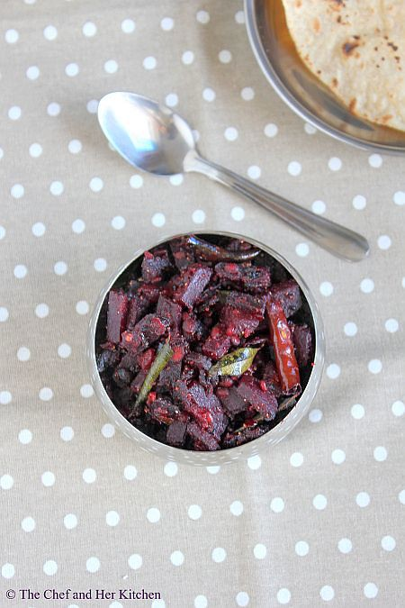 Beetroot Soicy Curry