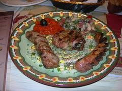 Bulgarian Mixed Grill Plate