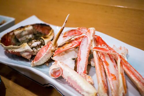 加能蟹(焼き)