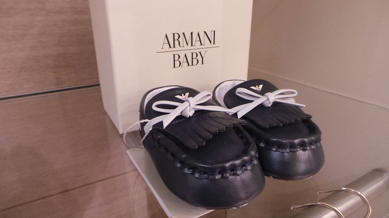 evento armani junior bari
