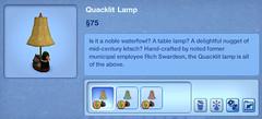 Quacklit Lamp