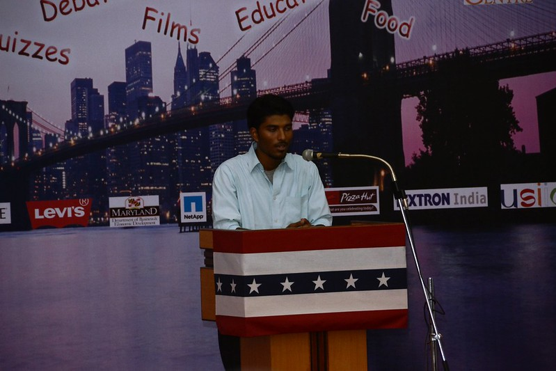 Experience America in Mangalore - Inter-Collegiate Speech Competition
