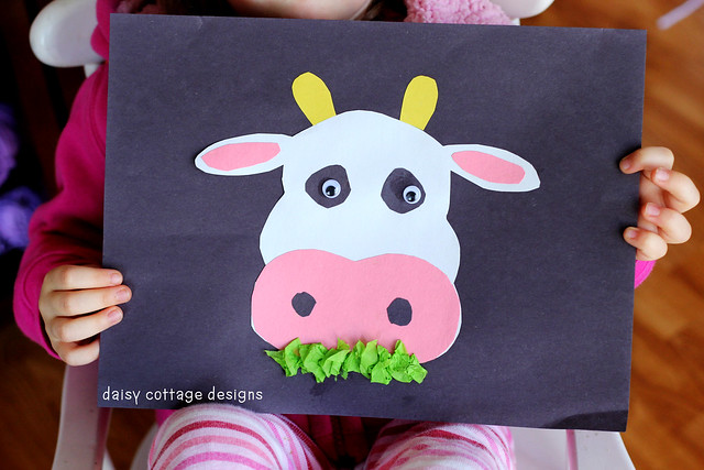 cow preschool project