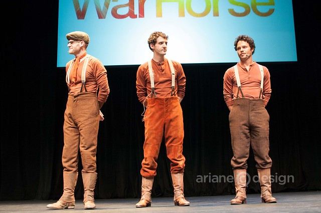 WarHorse puppeteers