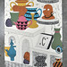 Paper Party Print by rand rand renfrow renfrow