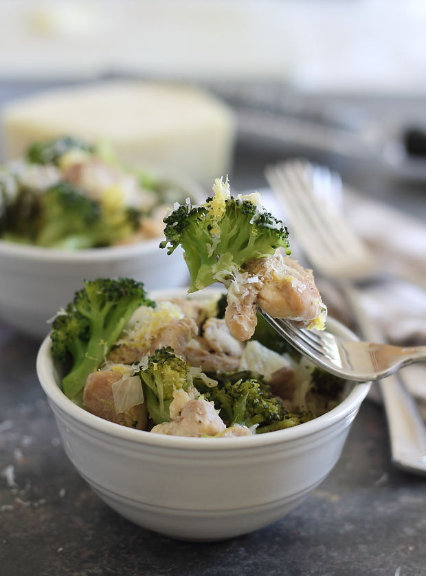 20 minute lemon chicken and broccoli