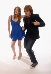 Eden Sher and Shane Dawson