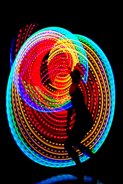 Hula Hoops In The Dark