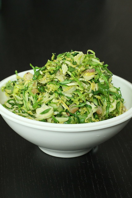 Asianesque Brussels Sprouts (shredded) 5