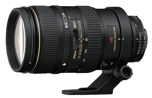 Nikon 80-400mm f/4.5-5.6D ED VR