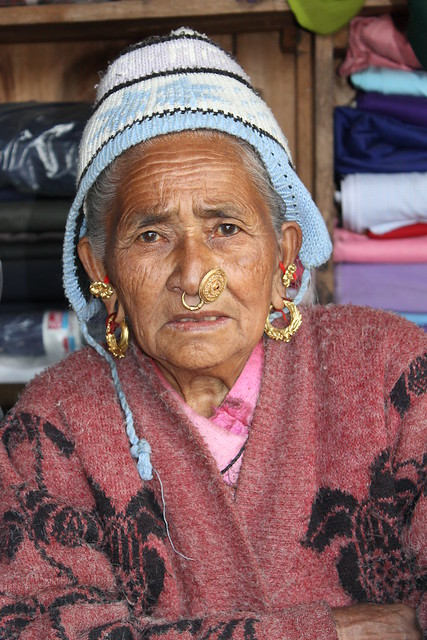 Lady in Sablakhu Bhanjyang
