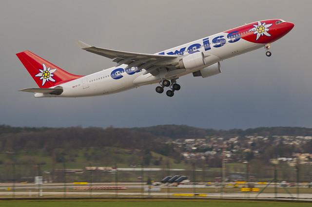 Edelweiss Air Airbus A330-200; HB-IQI@ZRH;10.03.2013/695af