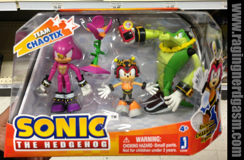 Sonic The Hedgehog Team Chaotix by Jazwares