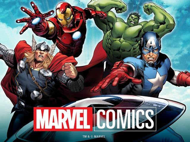 Marvel Comics app by Comixology