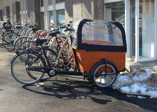 Babboe Cargo Bike, Cambridge MA
