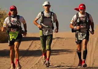 Στον Atacama Crossing 2012...