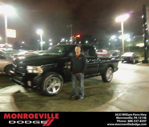 Congratulations to Harold Close on the 2013 Dodge Ram by Monroeville Dodge