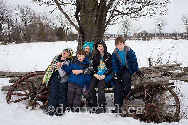 March break at the Log Farm (9 of 9)