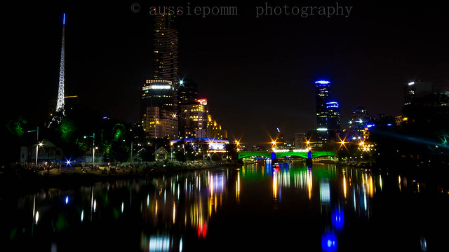 Yarra River and Melbourne CBD