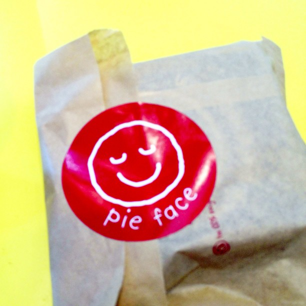 Tried out pie face for lunch