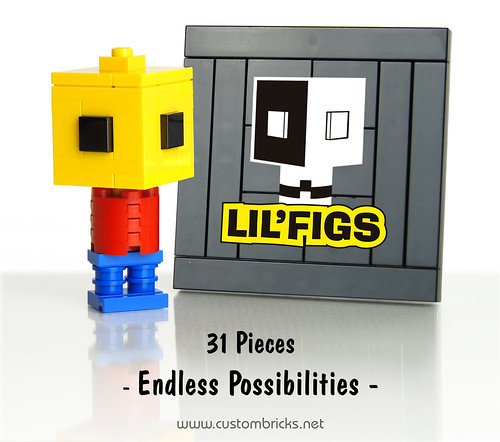 Lil'FIGS by customBRICKS