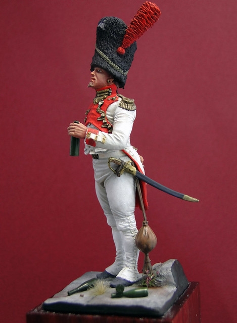 Oficial Granaderos Holandés, Guardia Imperial, 1804-1812 - Art Girona 8563285752_bfccd3db02_z