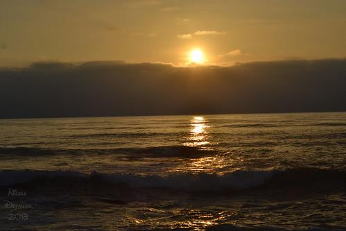 oh, sunset
