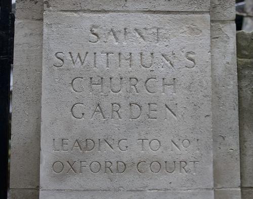 St Swithins Garden