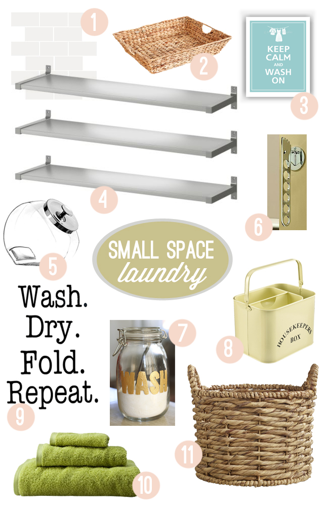 DIY-ify: Update your small laundry space!