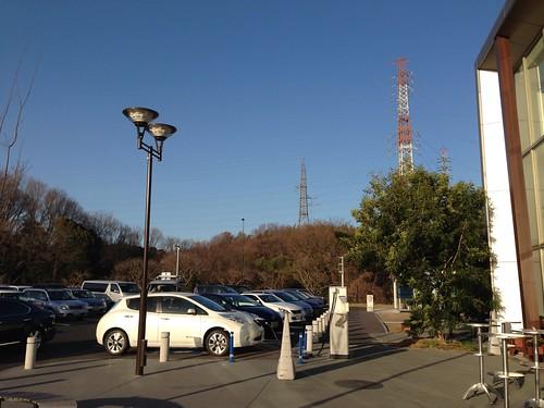 御在所SA(下り)電気自動車急速充電器