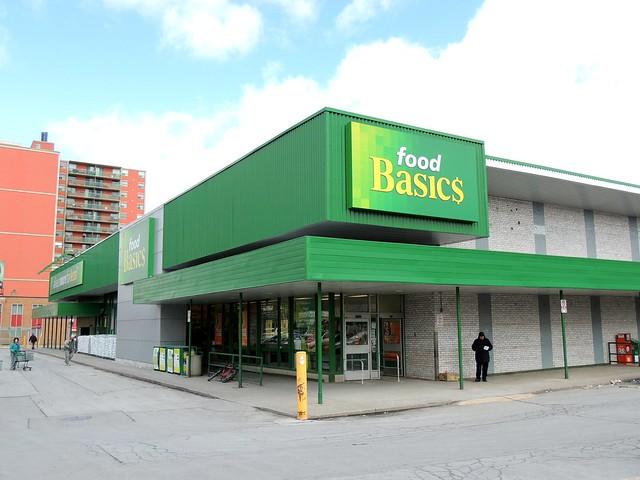 Food Basics Grocery Store .... Toronto, Ontario