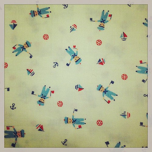 I just found one of my all-time favorite OOP fabrics online. I bought a yard. Am now hyperventilating. #minnymuu